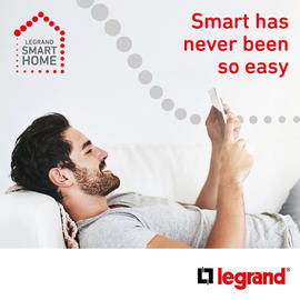 Smart have never been so easy - Legrand smart home